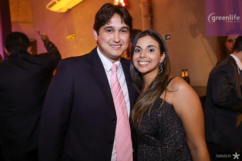 Marcos Cordeiro e Taisa Mendonca