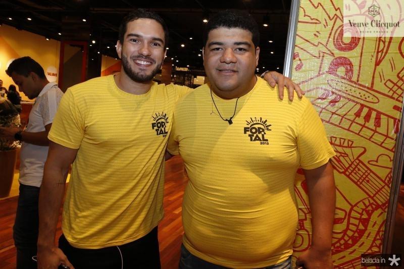 Kayke Maia e Anderson Queiroz