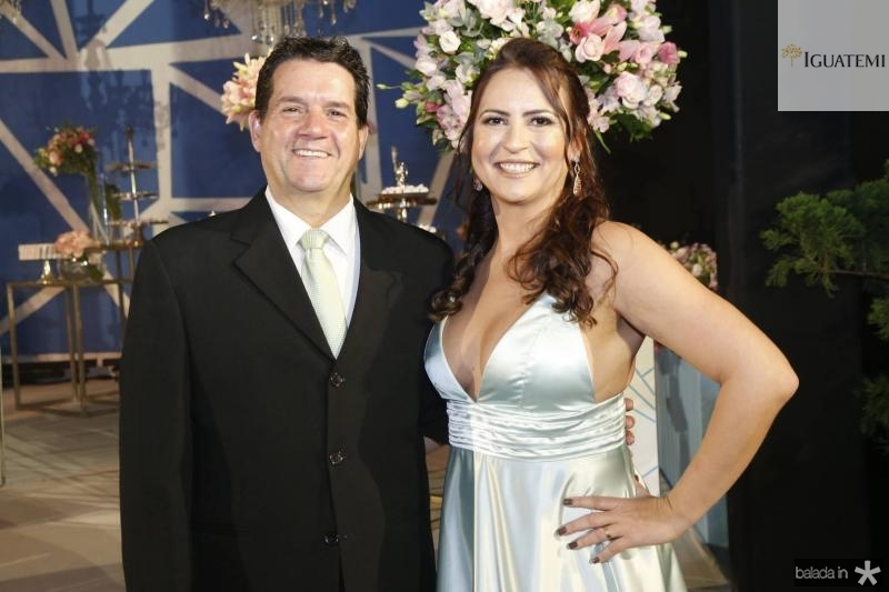Fabio Junior e Camila Nobre