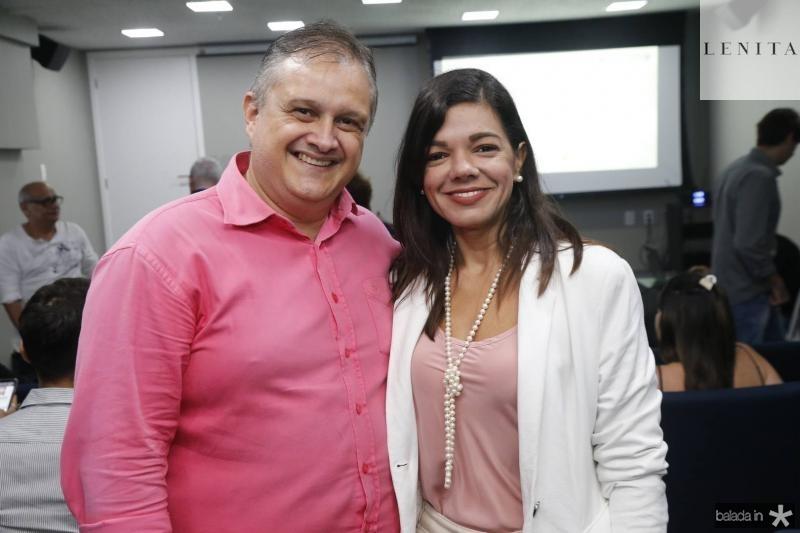 Gray Sampaio e Pollyana Brandao