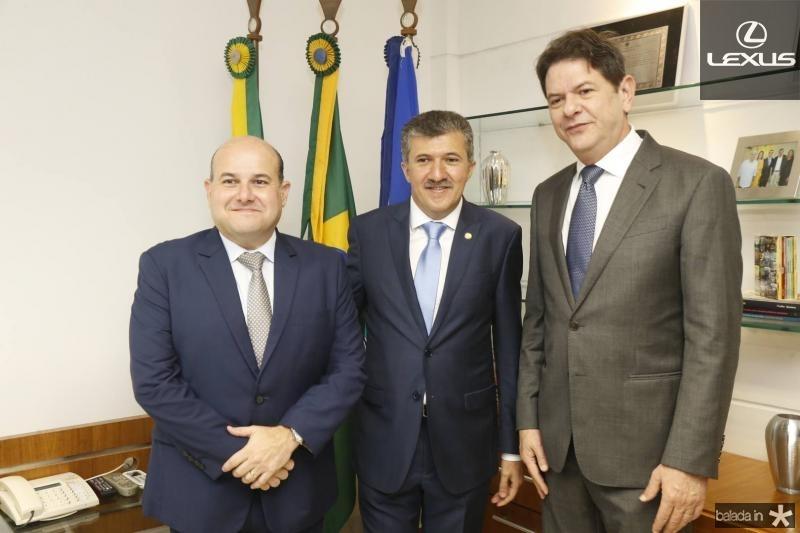Roberto Claudio, Antonio Henrique e Cid Gomes 2