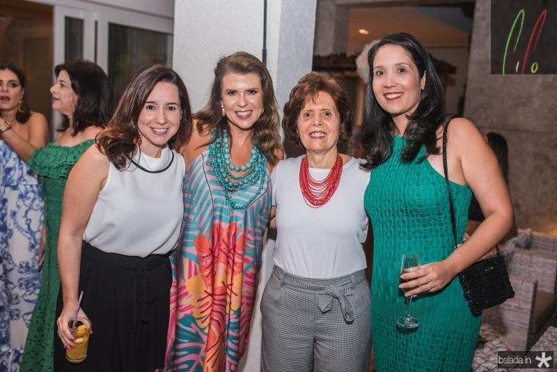 Caroline Camara, Alexandra Pinto, Didie Camara e Renata Camara