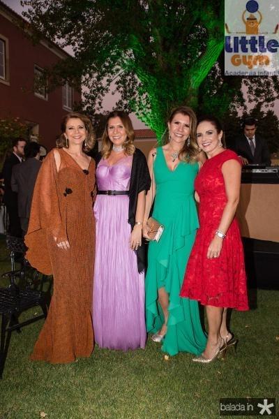Fatima Camara, Alessandra Arrais, Georgia Fontes e Beatrice Ary