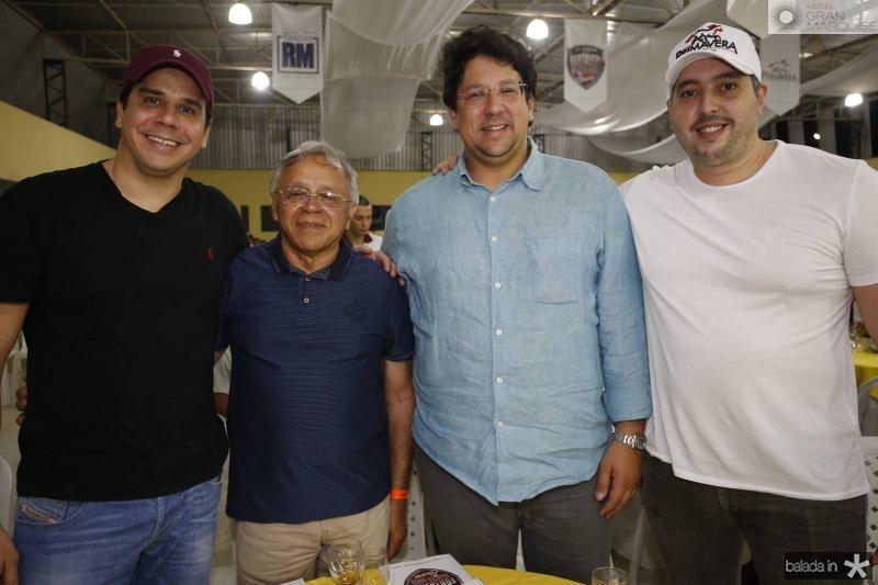 Saulo Carvalho, Augusto Guimaraes, Matheus Carvalho e Tiago Leal