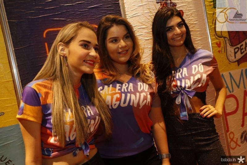 Francisca Sheila, Rebeca Aires e Andressa Katlen 2