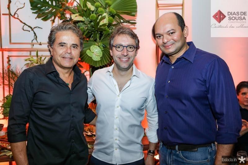 Ivan Bezerra, Francisco Marinho e Otilio Ferreira