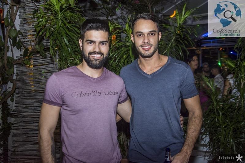 Augusto Messias e Fabio Morais