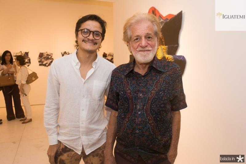 Cesar Oliveira e Alberto Pinto