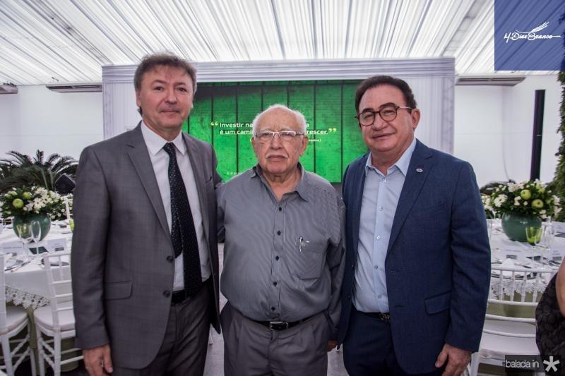 Mauricio Filizola, Ubiratan Aguiar e Manuel Linhares
