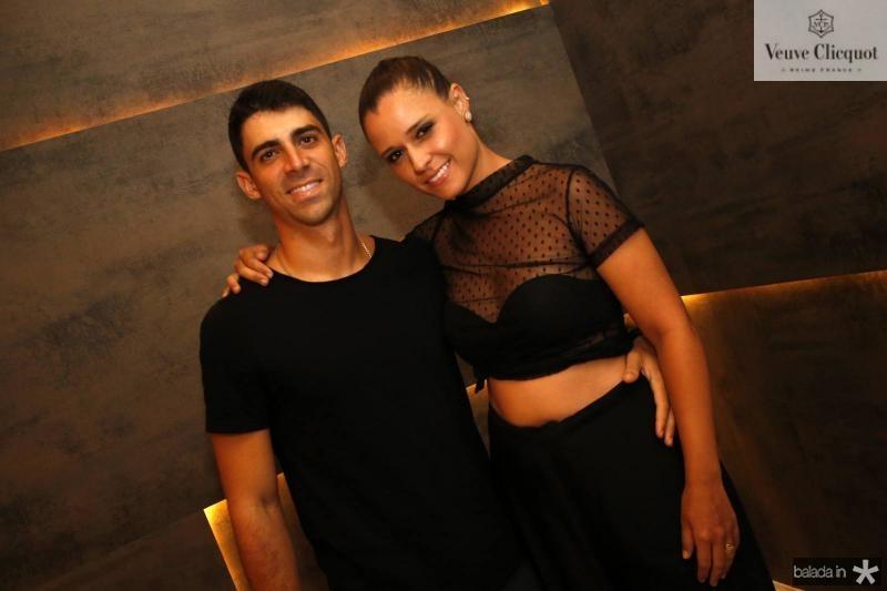 Paulo Vitor e Maira Magesti