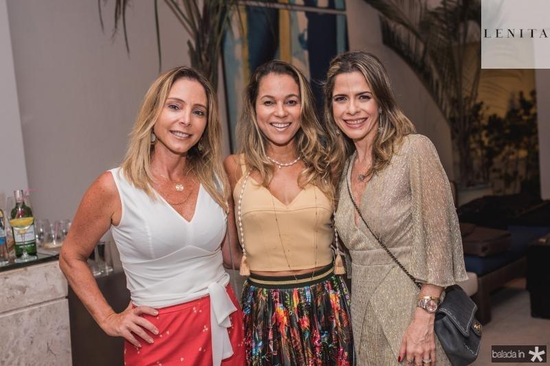 Ana Paula Daud Melo, Ligia Vilar e Carla Nogueira