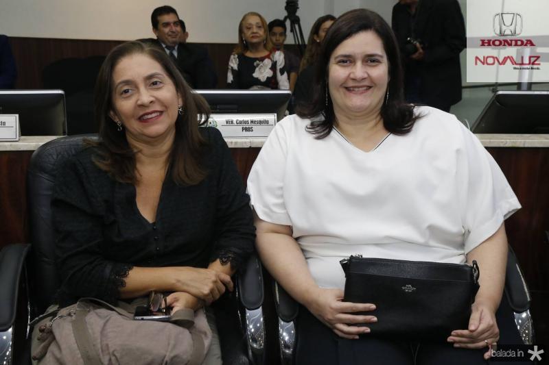Meirijane Gonzale e Marilia Marinho