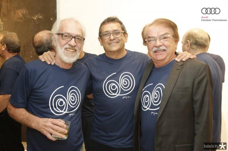 Silas de Paula, Jose Guedes e Padua Araujo