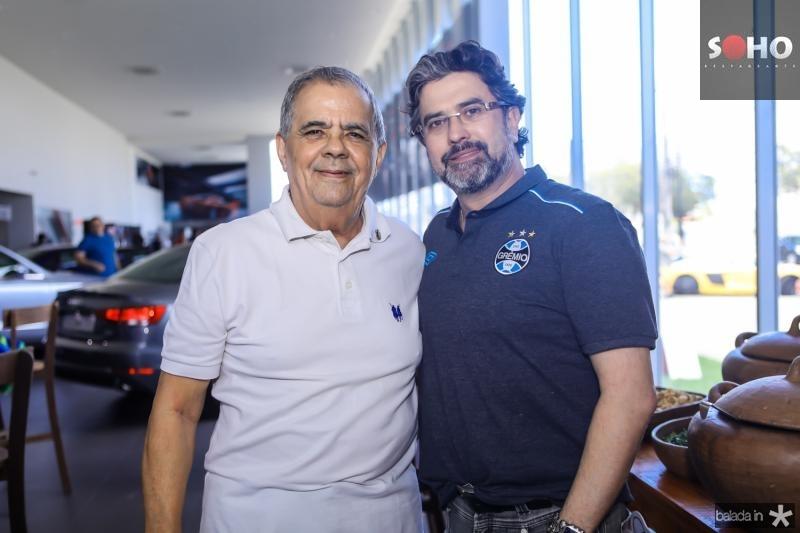 Maninho Brigido e Jorge Vieira