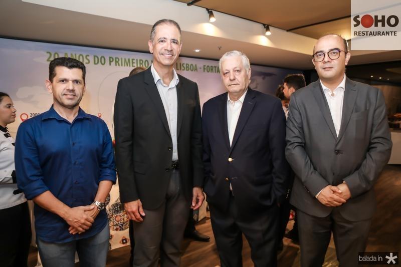 Eick Vasconcelos, Regis Medeiros, Mario Carvalho e Adriano Araujo