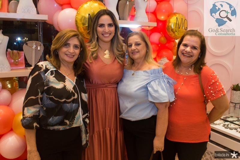 Ana Claudia e Mariana Queiroz, Neiva Sa e Fatima Camara
