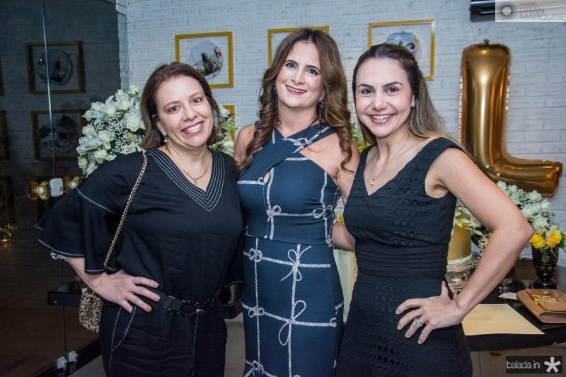 Zelia Gadelha, Adriana Bezerra e Adriana Queiroz