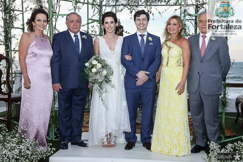 Clarissa, Kallu e Cristina Brandao, Eduardo e Eveline Lima, Minervino de Castro