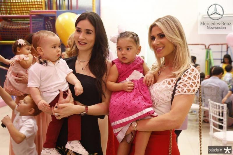 Julinho e Sofia Castenheira, Leticia e Patricia Holanda