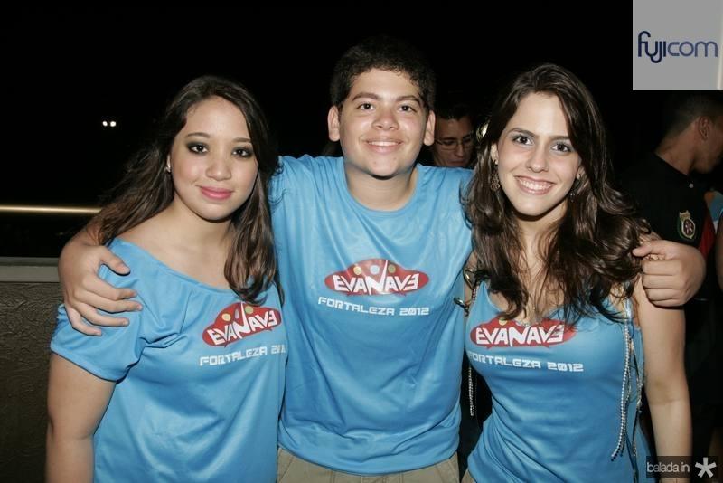 Larissa Perdigao, Almir Ribeiro e Maria Clara Gondim