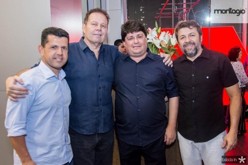 Erick Vasconcelos, Julio Ventura, George Lima e Elcio Batista