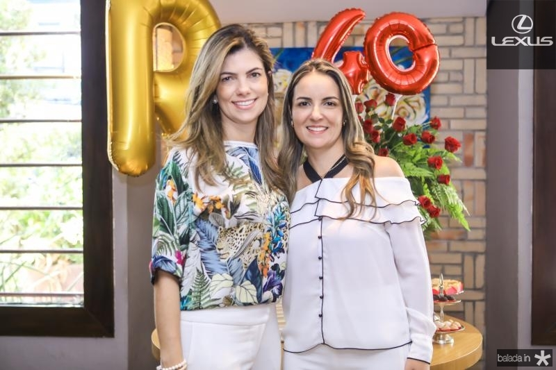Ines Castro e Raquel Vasconcelos