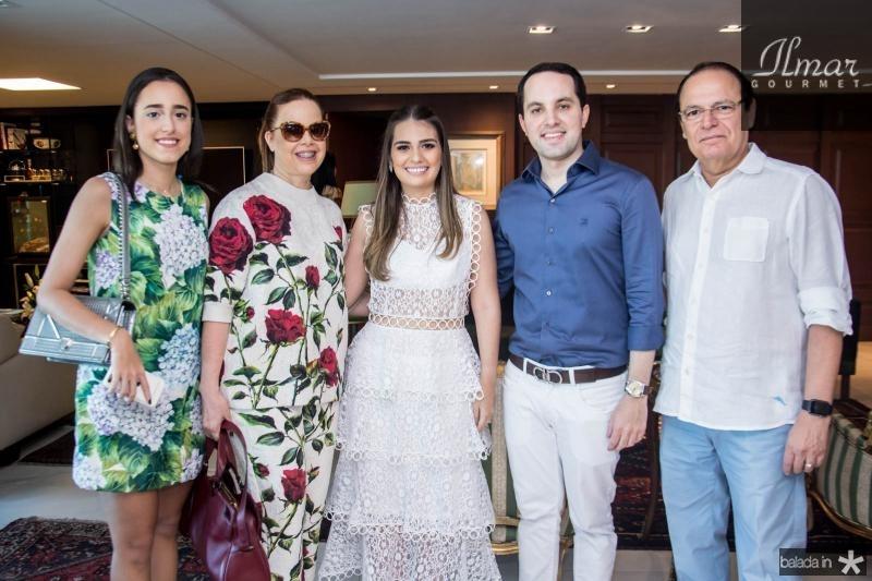 Rafaela Fonseca, Isabela Fonseca, Manuela Câmara, Tomas Moraes e Orlando Fonseca