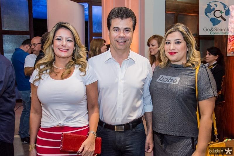 Tatiana Luna, Duda Brigido e Manu Romcy