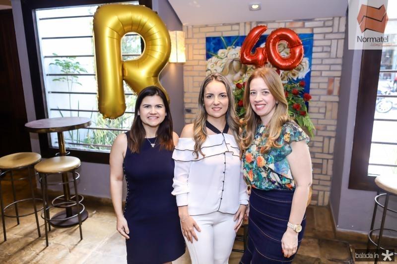 Ticiana Brigido, Raquel Vasconcelos e Marina Vale