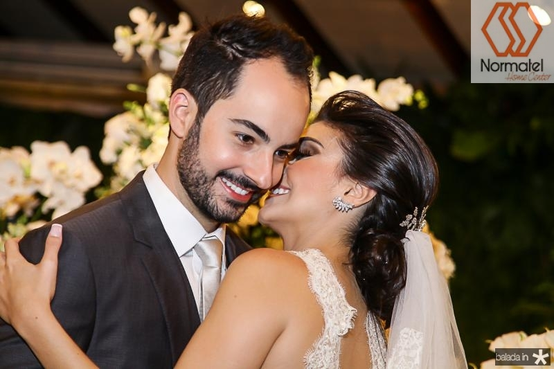 Felipe Barreira e Beatriz Pontes