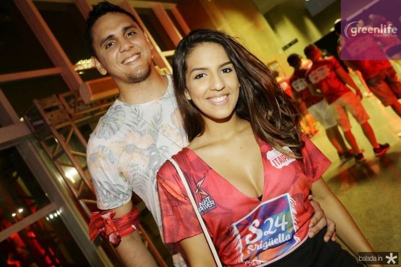 Paulo Uchoa e Priscila Duarte