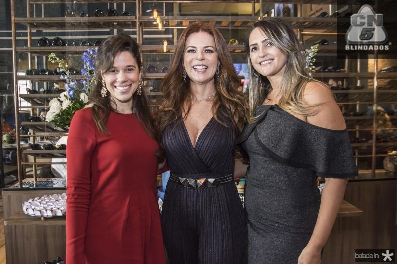Mirela Thomaz, Claudia Quental e Mahely Fernandes