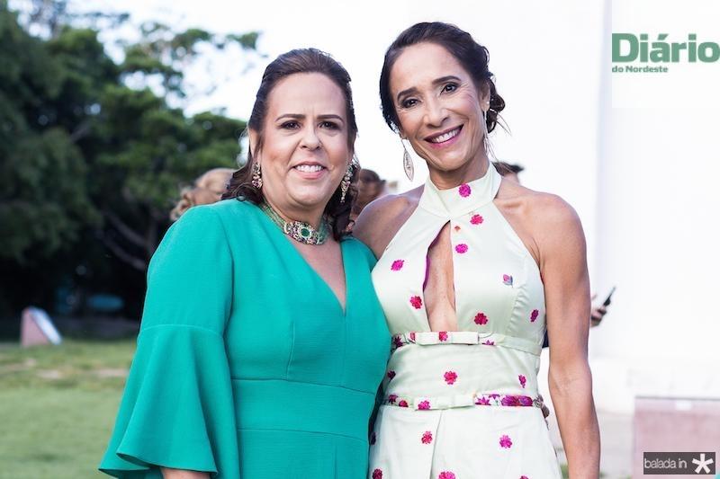 Liana Ximenes e Beth Carvalho