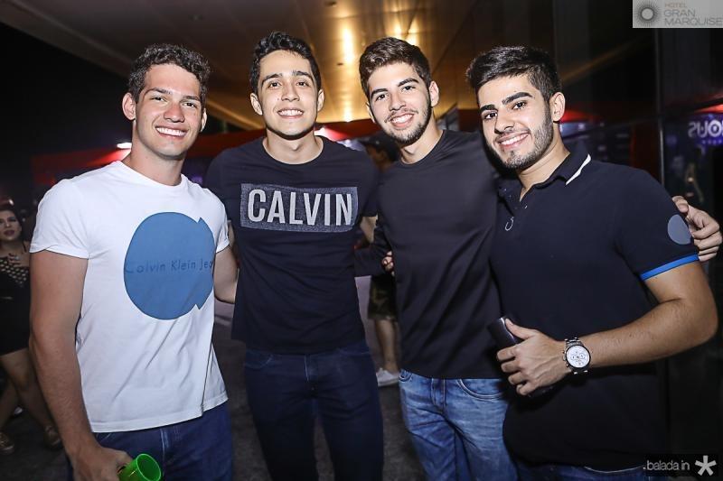 Iury Bezerra, Mateus de Sa, Andre Silveira e Mateus Bezerra