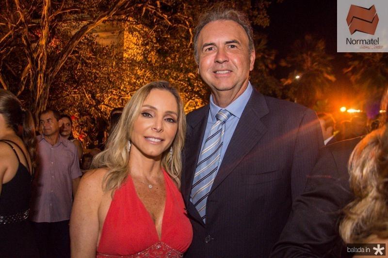 Ana Paula e Joao Cateb Melo