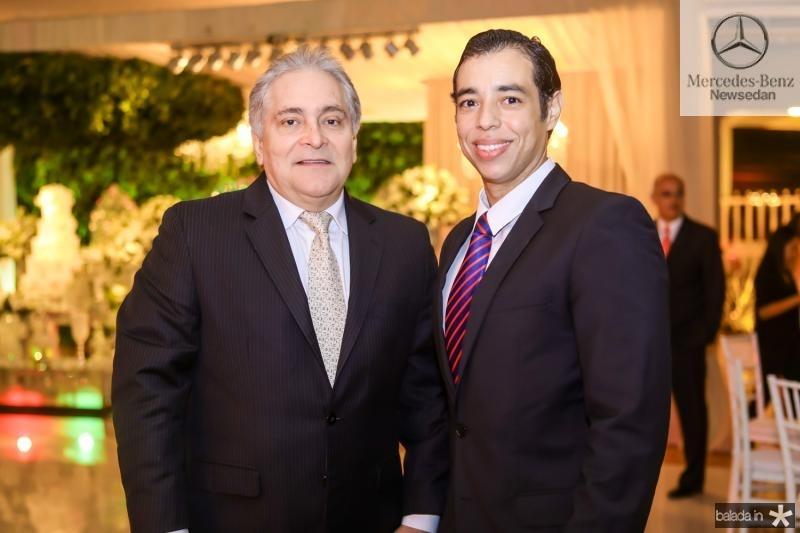 Luis Pontes e Leonardo Araujo