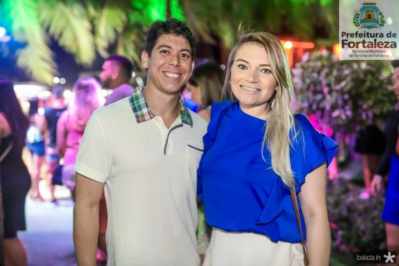 Thiago Porfirio e Rachel Juca