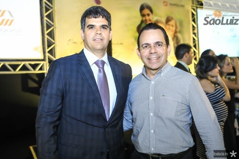 Marcos Ratacazo e Alexandre Guilhon