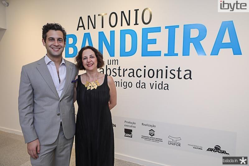 Giancarlo Hannud e Regina Teixeira