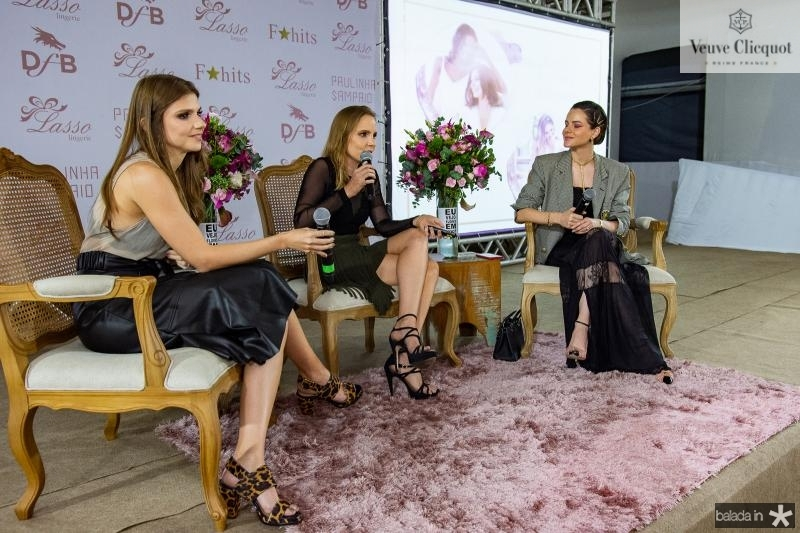 Giovanna Gripp, Nathalia Petrone e Paulinha Sampaio