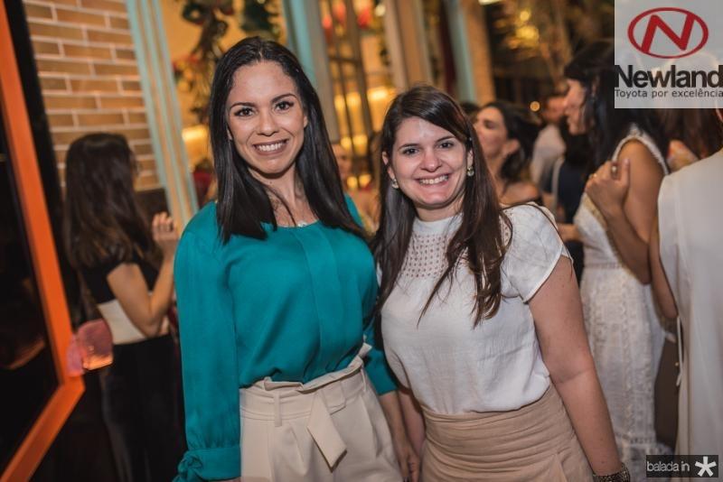 Cristine Rocha e Sara Aragao