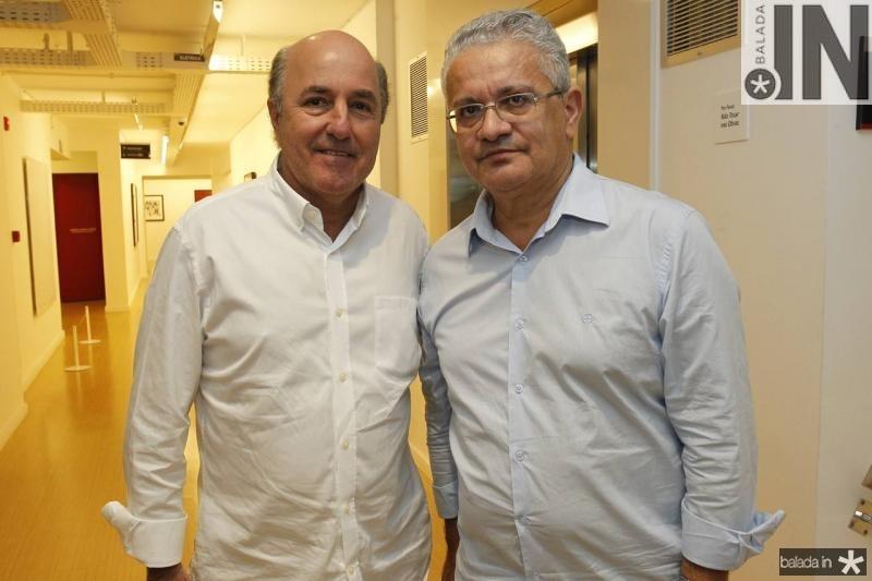 Silvio Frota e Luiz Sergio Santos