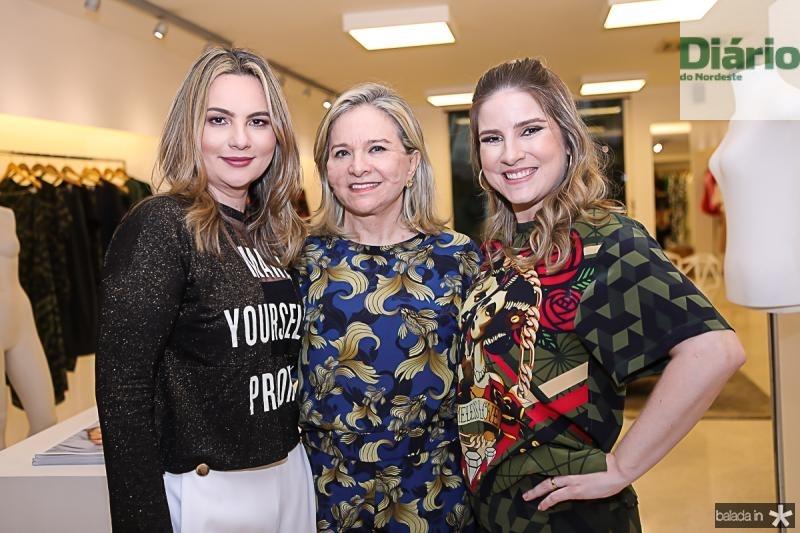 Soraya Pinheiro, Natercia Jereissati e Maria Clara Dall'Ólio