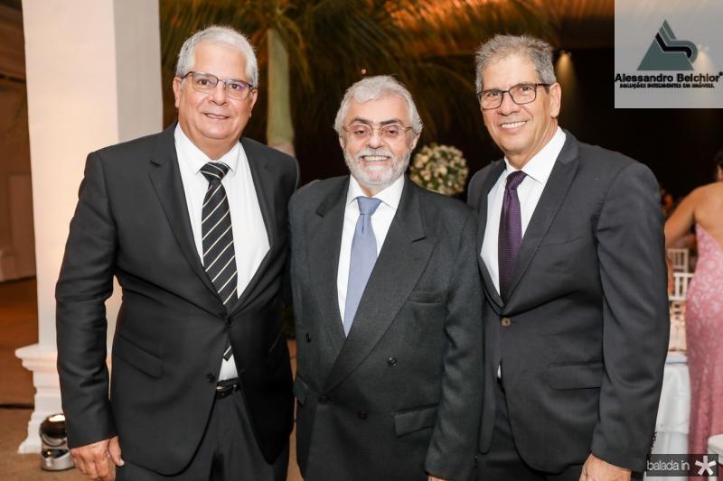 Fernando Ramalho, Hipolito Monte e Ramalho Neto