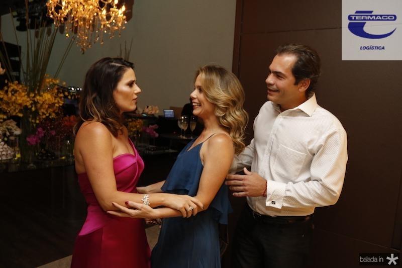 Renata Vale, Lina e Candido Pinheiro