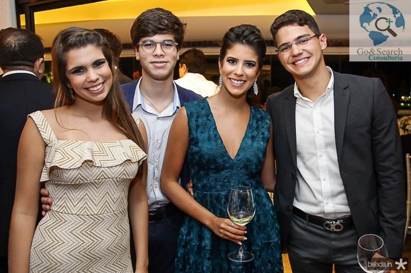 Julia Pinto, Geraldo Rola, Marcela Pinto e Otavio Queiroz Filho