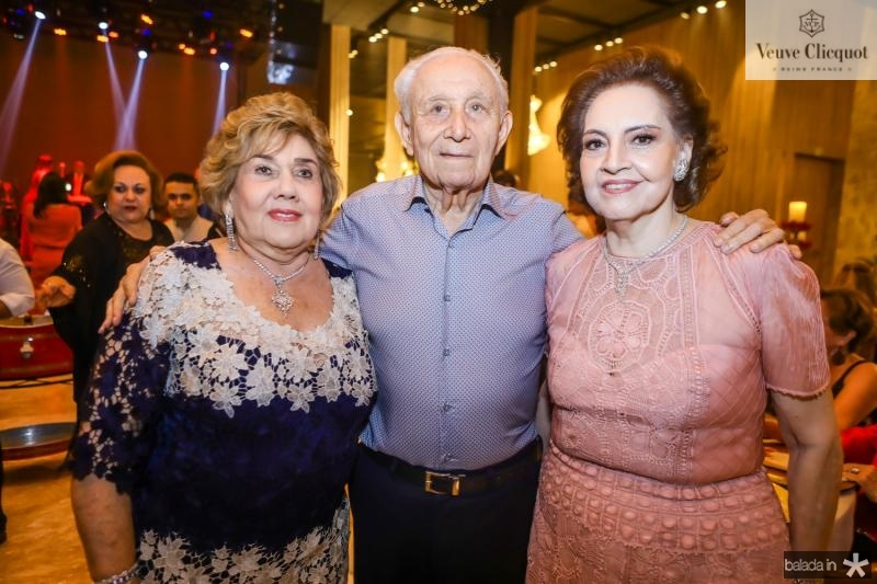 Consuelo Dias Branco, Humberto e Norma Bezerra