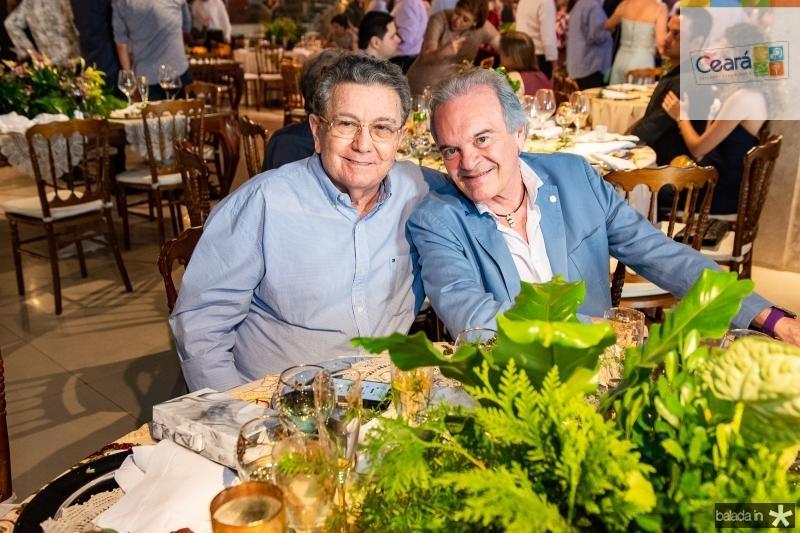 Alberto Carneiro e Nertan Ribeiro