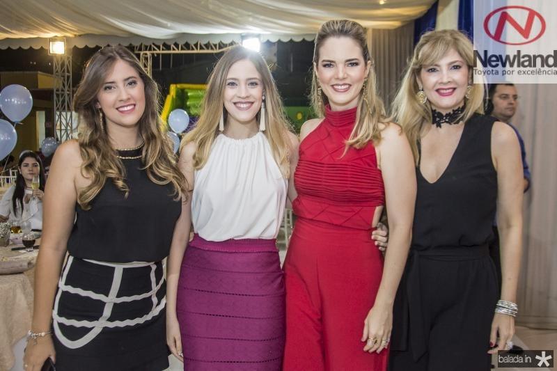 Camila Bonorandi, Priscila Bonorandi, Ticiana Cabral e Angela Bonorandi