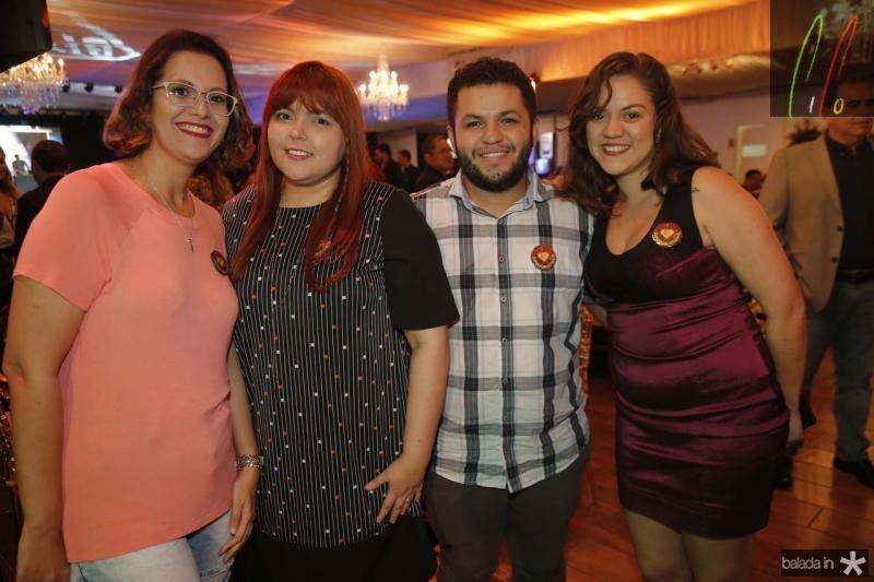 Beatriz Mota, Any Jordao, Nassa Bento e Leticia Gabrieloa